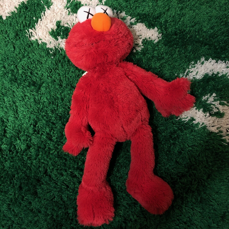 Kaws x Sesame Street Plush Elmo