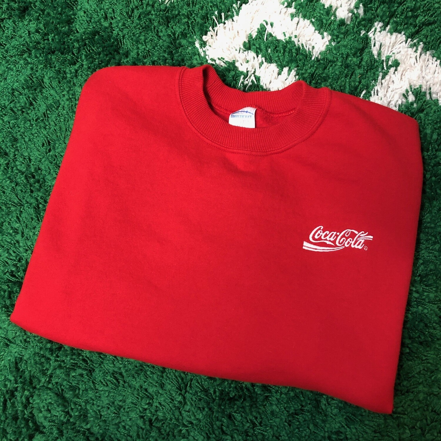 Coca-Cola Sweater Red Size Large