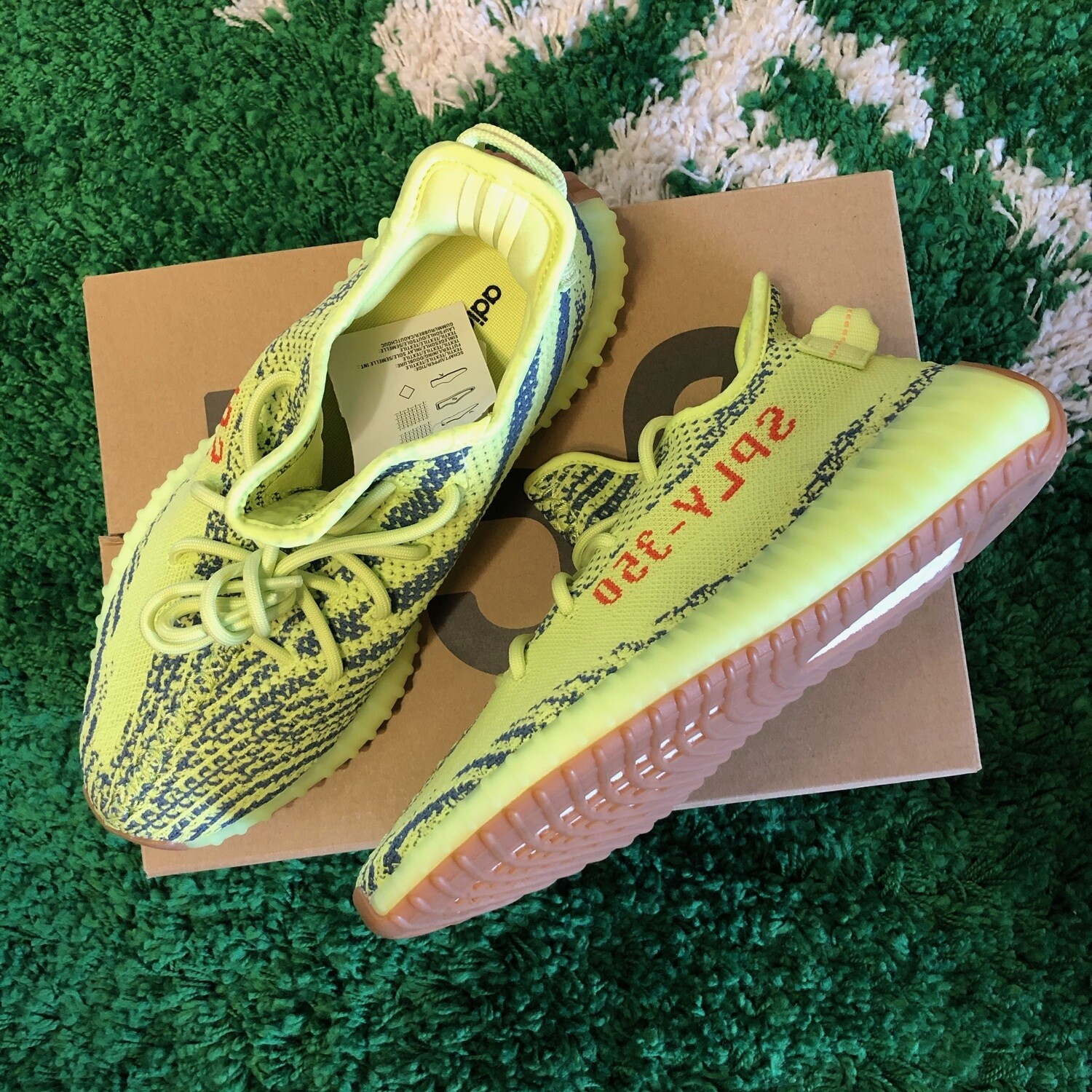 Adidas Yeezy Boost 350 v2 Frozen Yellow Size 8