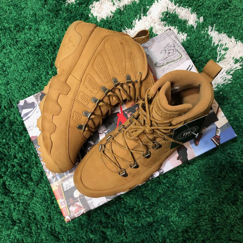 Air Jordan 9 Boot Wheat Size 8.5