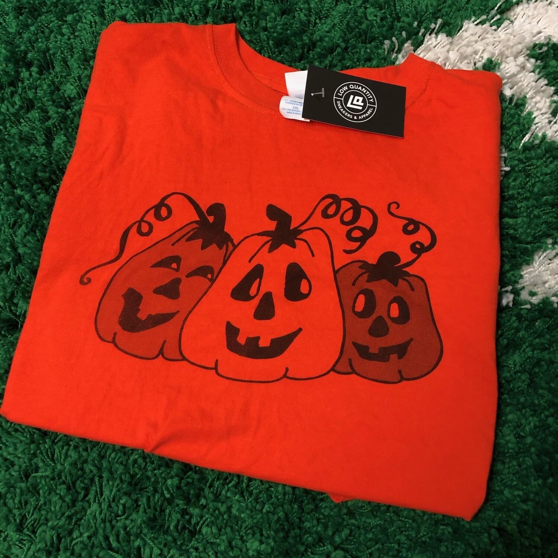 Pumpkin Tee Orange Size XXL