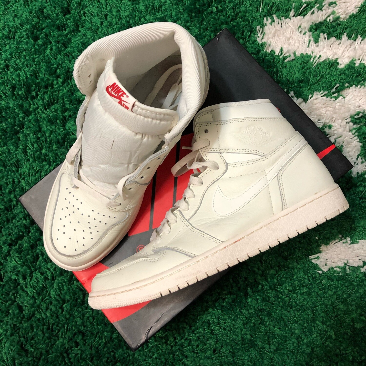 Air Jordan 1 Sail Size 11