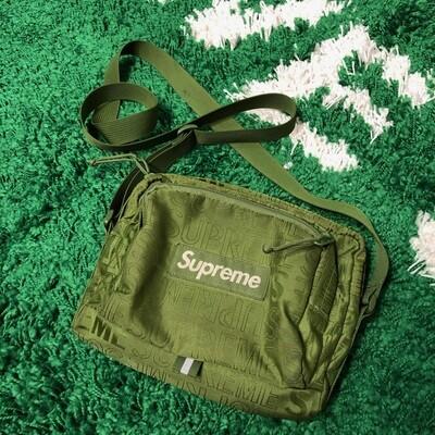 Supreme Side Bag Olive