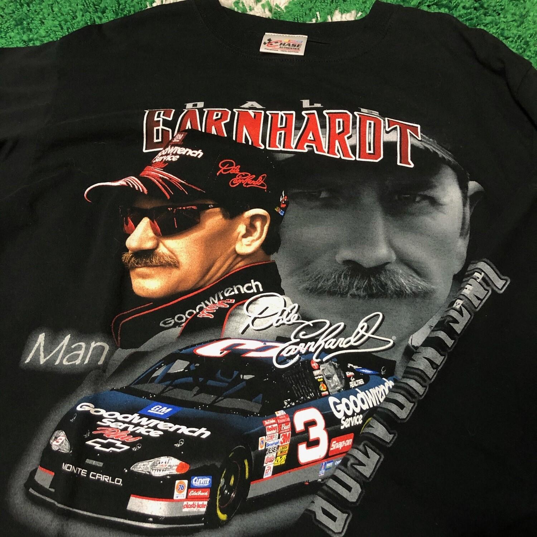 Dale Earnhardt Long Sleeve Black Size Large