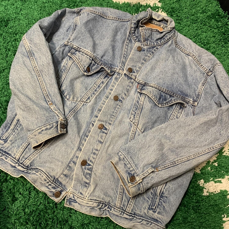 Levis Denim Jacket Size Large
