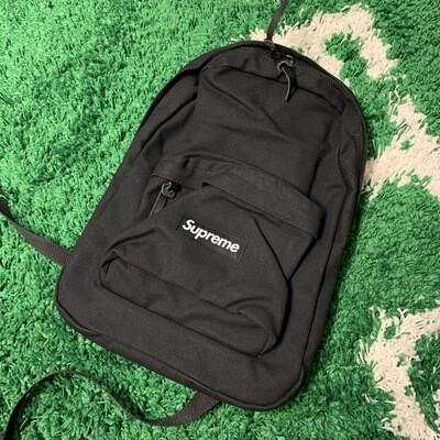 Supreme Canvas Backpack Black