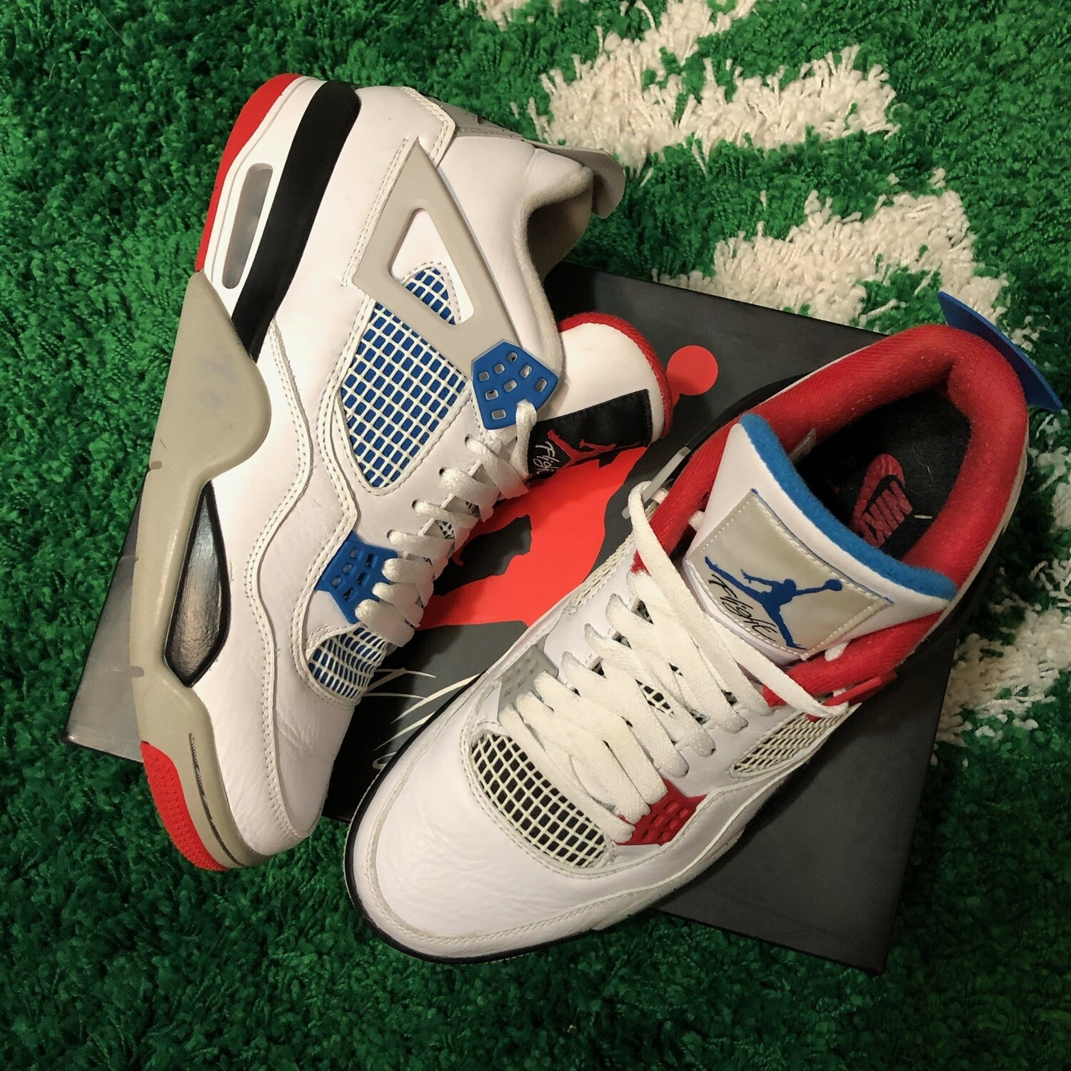 Air Jordan 4 What The Size 10