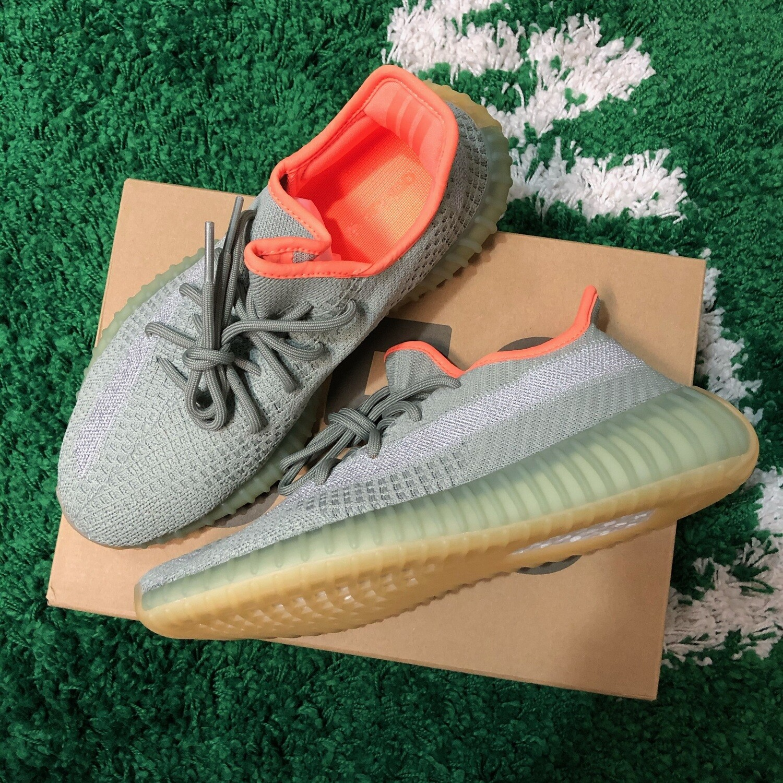 Adidas Yeezy Boost 350 V2 Desert Sage Size 8.5