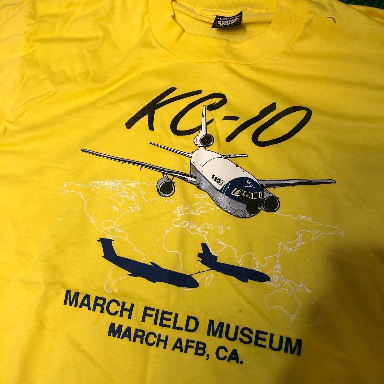 KC-10 March Field Mueum Shirt Size XL