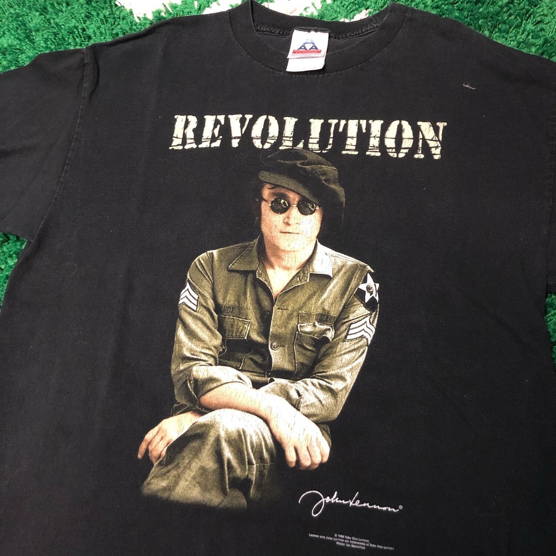 John Lennon Revolution Tee Size Large