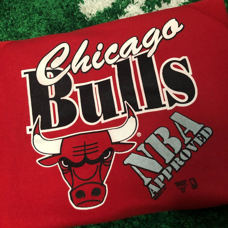 Chicago Bulls Sweater 1991 Size Large