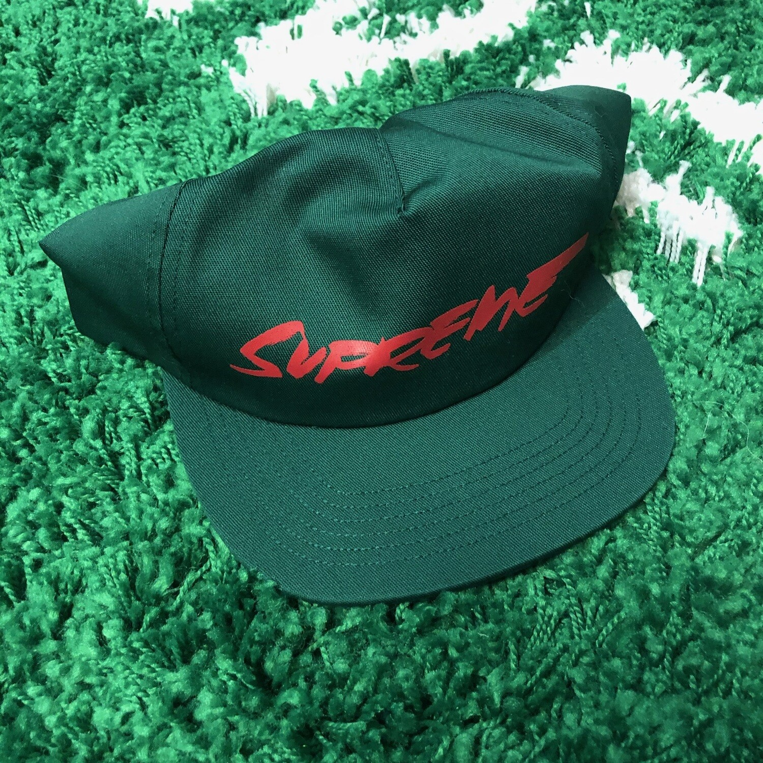 Supreme Futura Hat Green