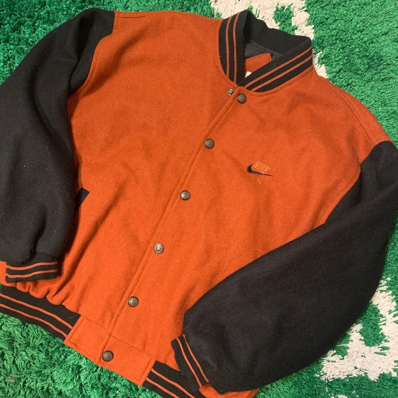 Nike Bootleg Jacket Orange/Brown Size XL