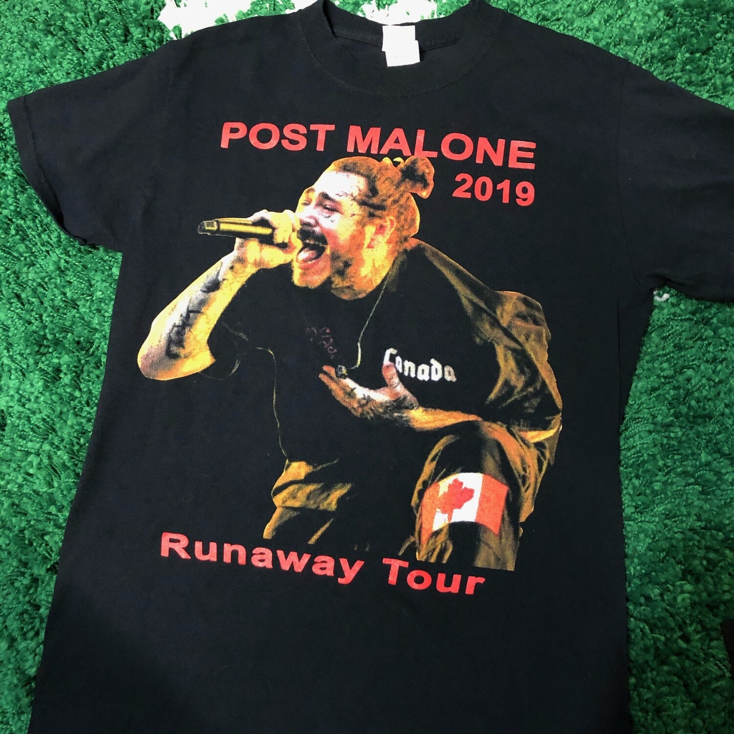 Post Malone 2019 Tour Shirt Size Small
