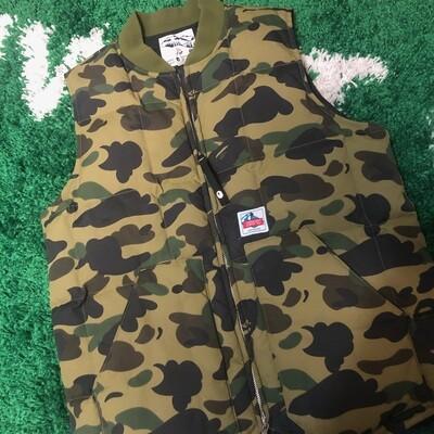 Bape Camo Vest Size Medium