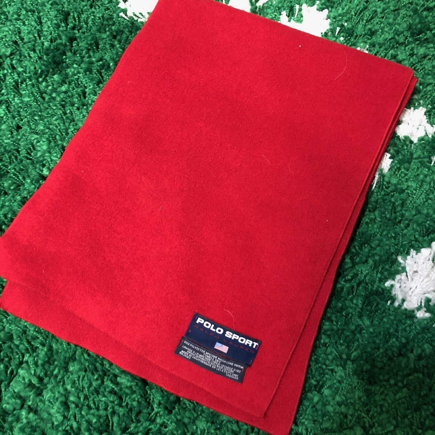Polo Sport Scarf Red