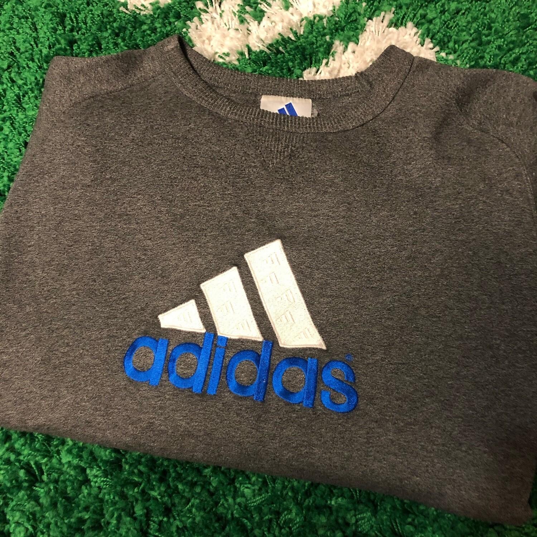 Adidas Sweater Grey Size XL