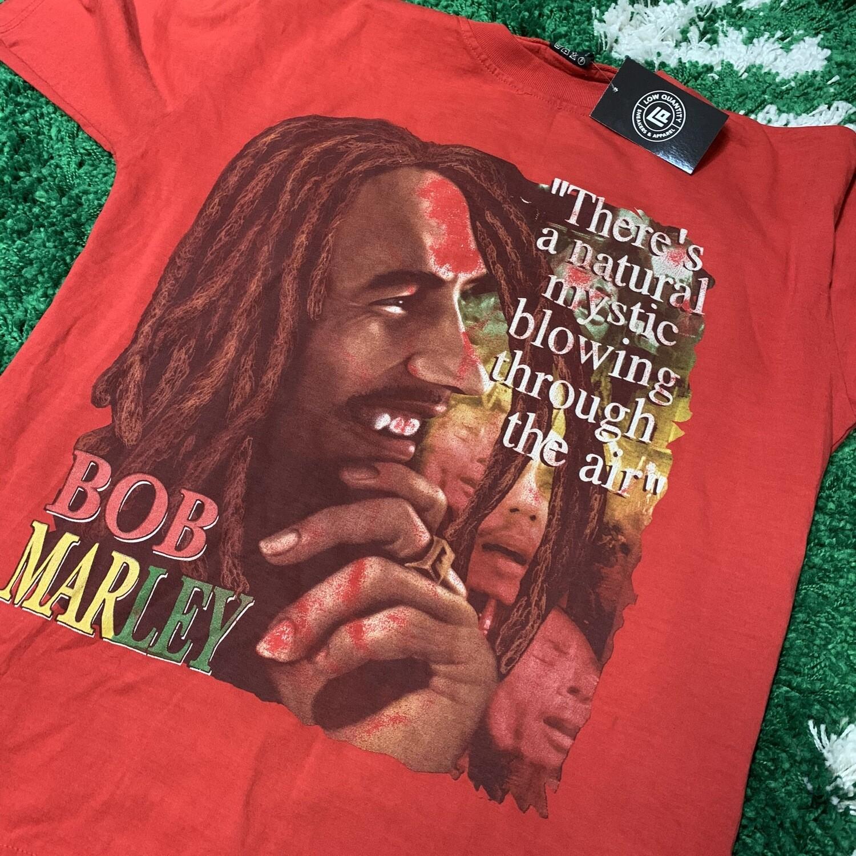 Bob Marley Red Tee Size XL