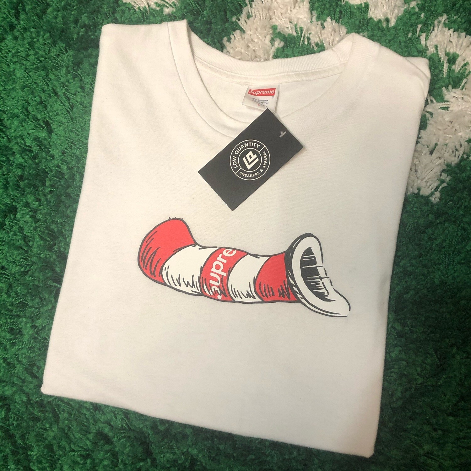 Supreme Cat In The Hat Tee Size Large
