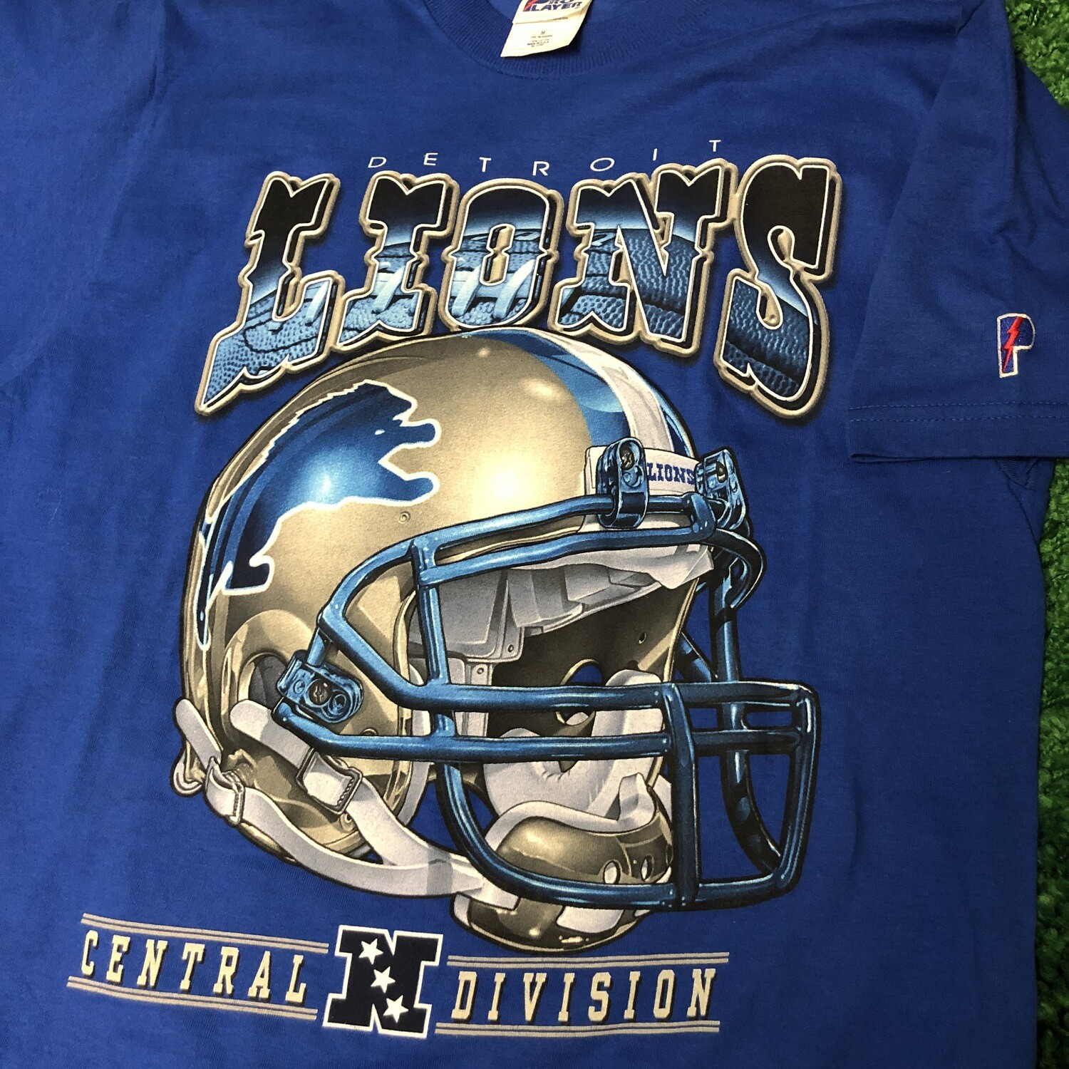 Detroit Lions Pro Player Tee Size Medium