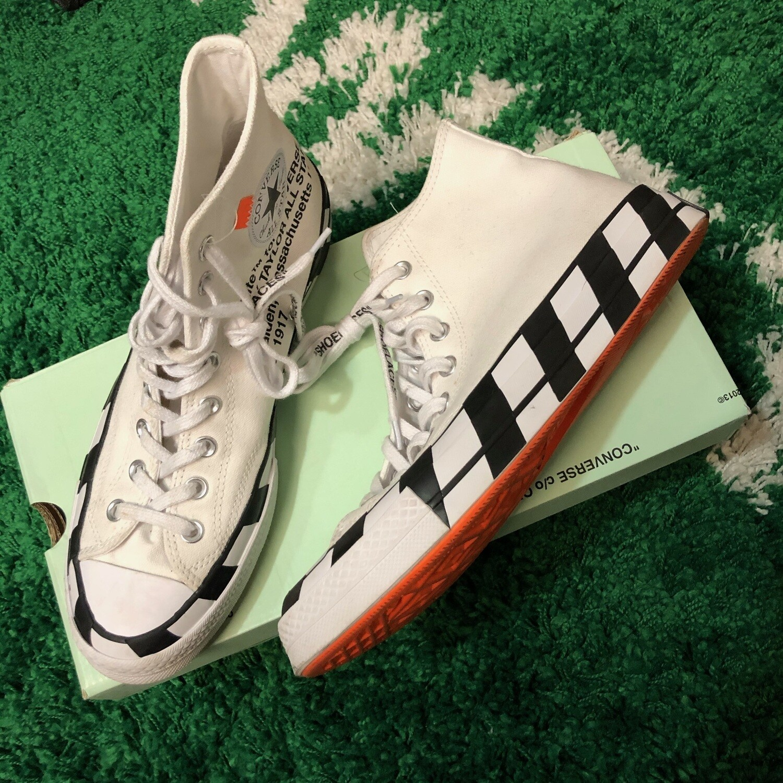 Off-white Converse Size 8.5