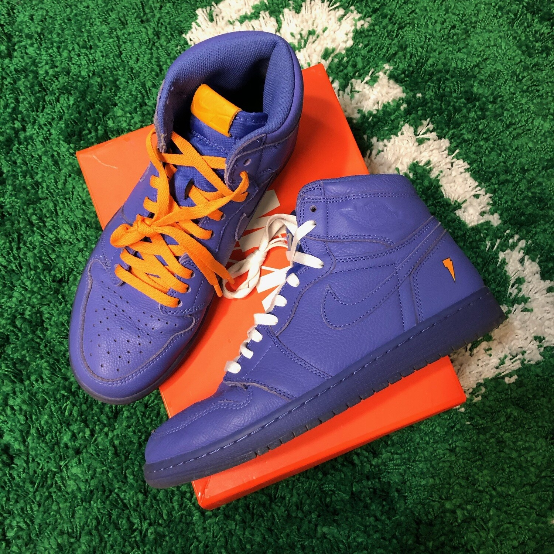 Air Jordan 1 Gatorade Purple Size 9.5