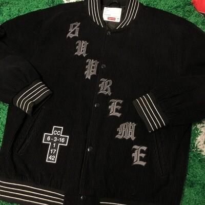 Supreme Cross Jacket Black Size Large