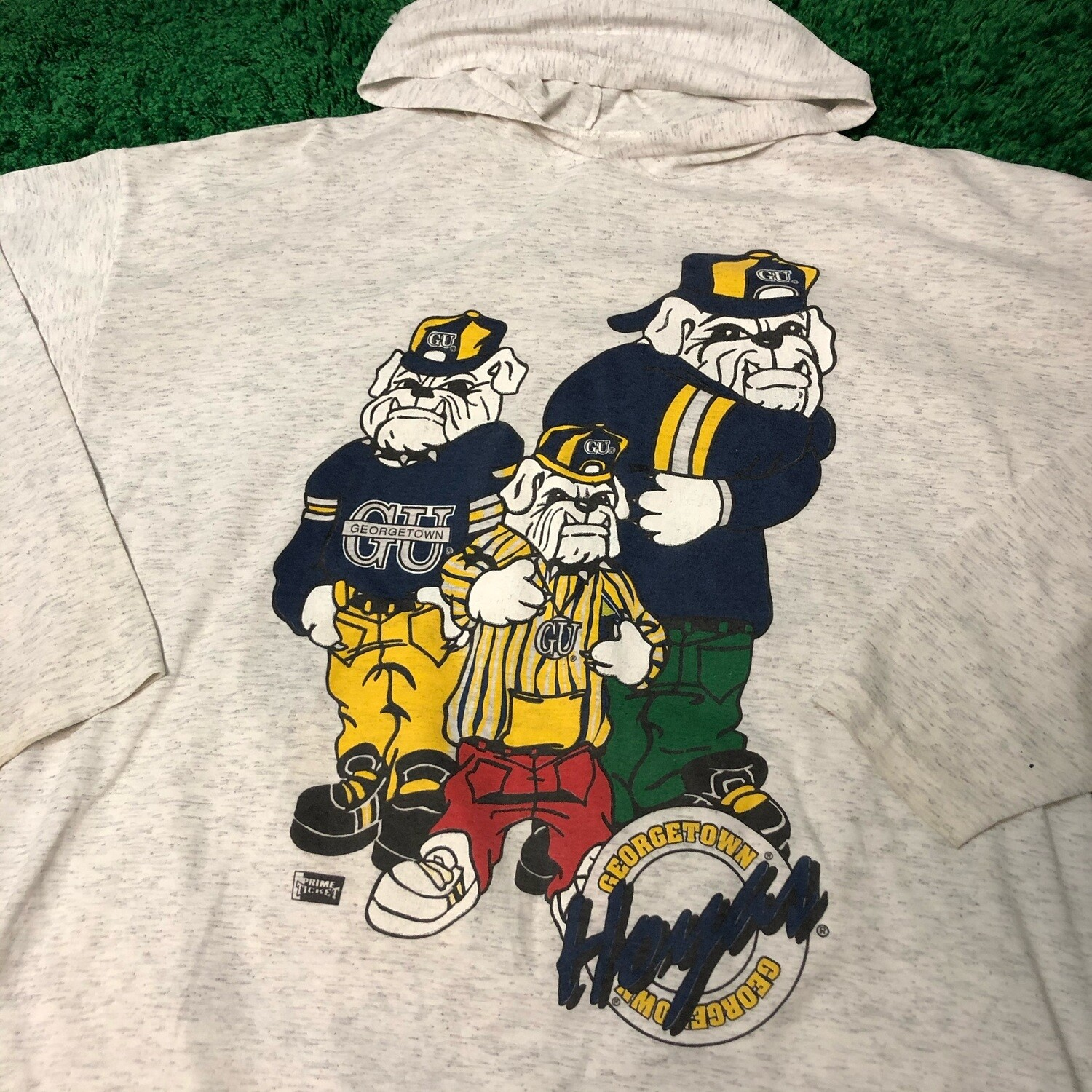 Georgetown Hoyas Long Sleeve with Hood Size XL
