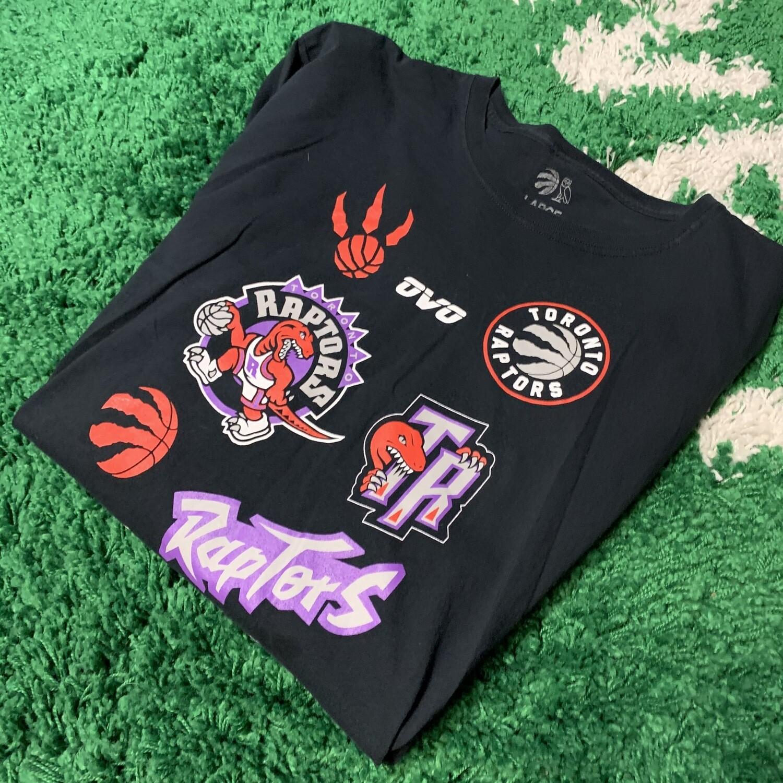 Toronto Raptors Ovo Logo Long Sleeve Size Large