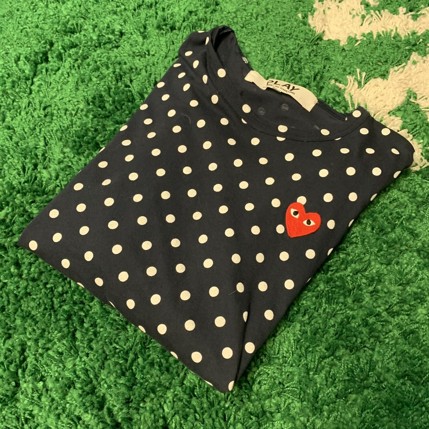 CDG Polka Dot Shirt Size Large