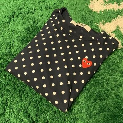 CDG Polka Dot Shirt Size Large