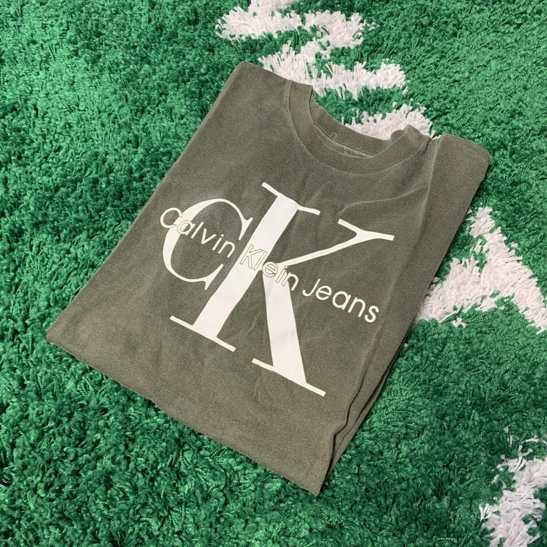 Calvin Klein Jeans Bootleg Green Size XXL