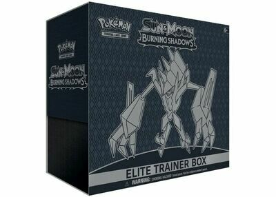 2017 Pokemon TCG Sun & Moon Burning Shadows Elite Trainer Box