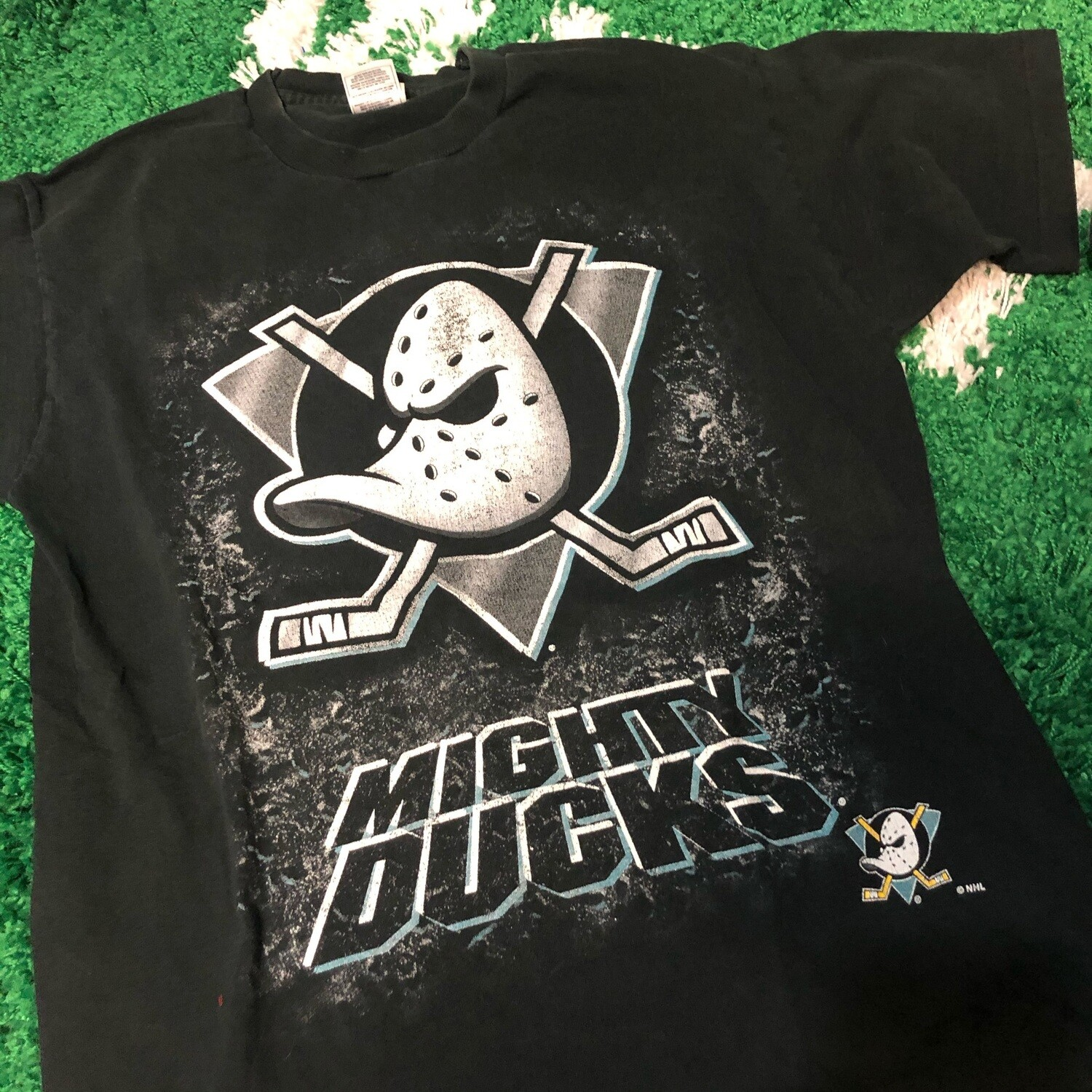 Mighty Ducks Tee Black Size Large