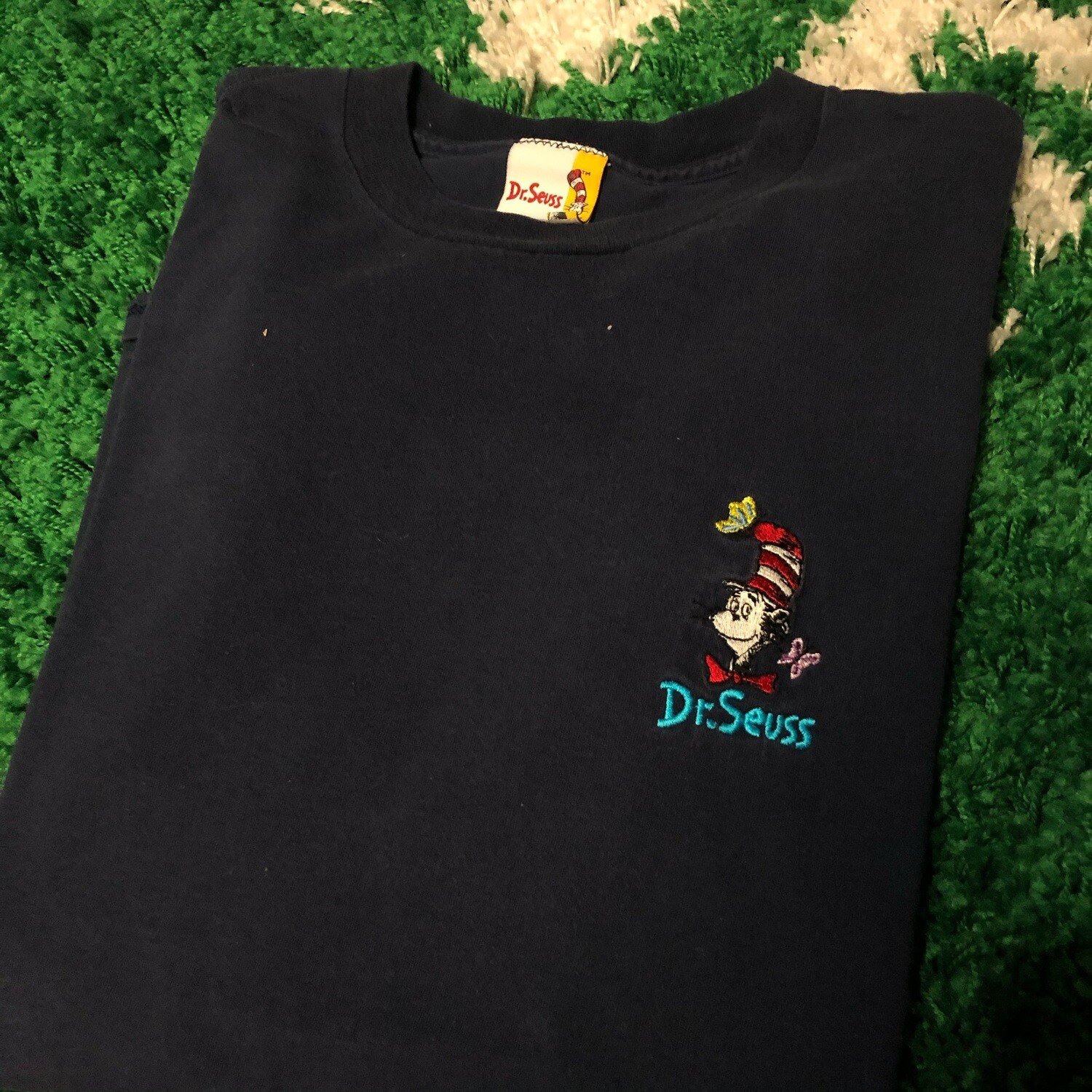 Dr. Seuss Stitched Tee Size Large
