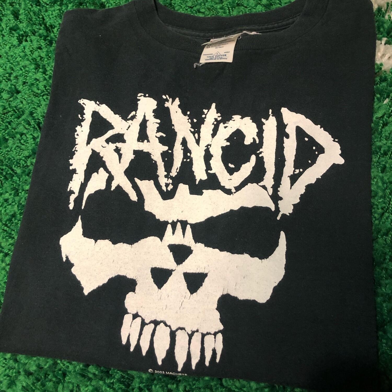 Rancid Skull Logo 2003 Size Large