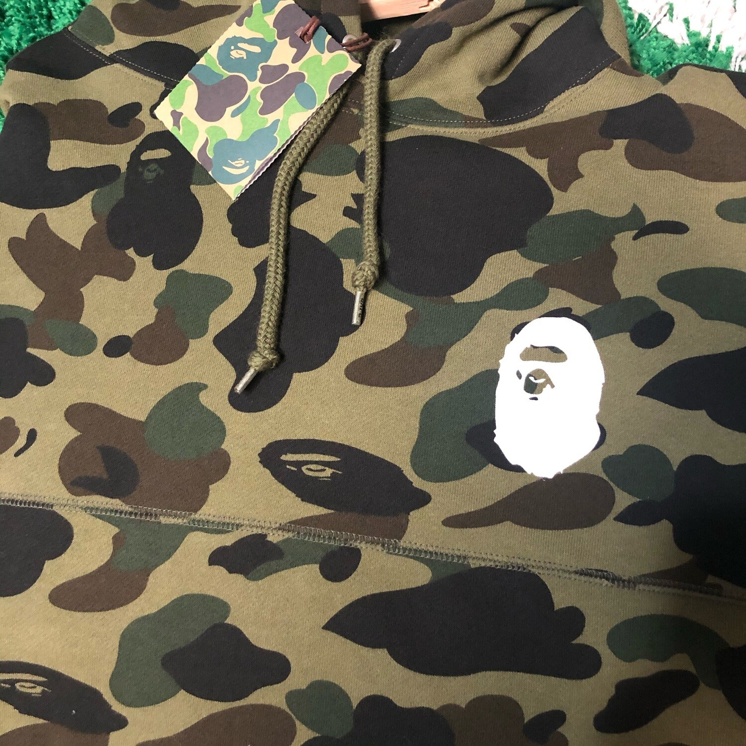 A Bathing Ape First Camo Sweater Size Large