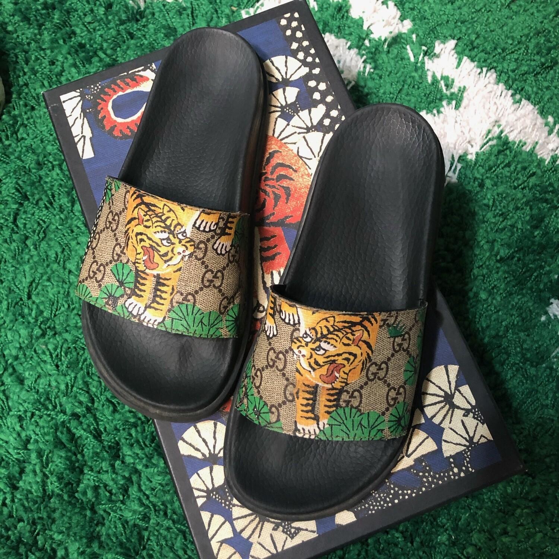 Gucci Tiger Slides Size 7