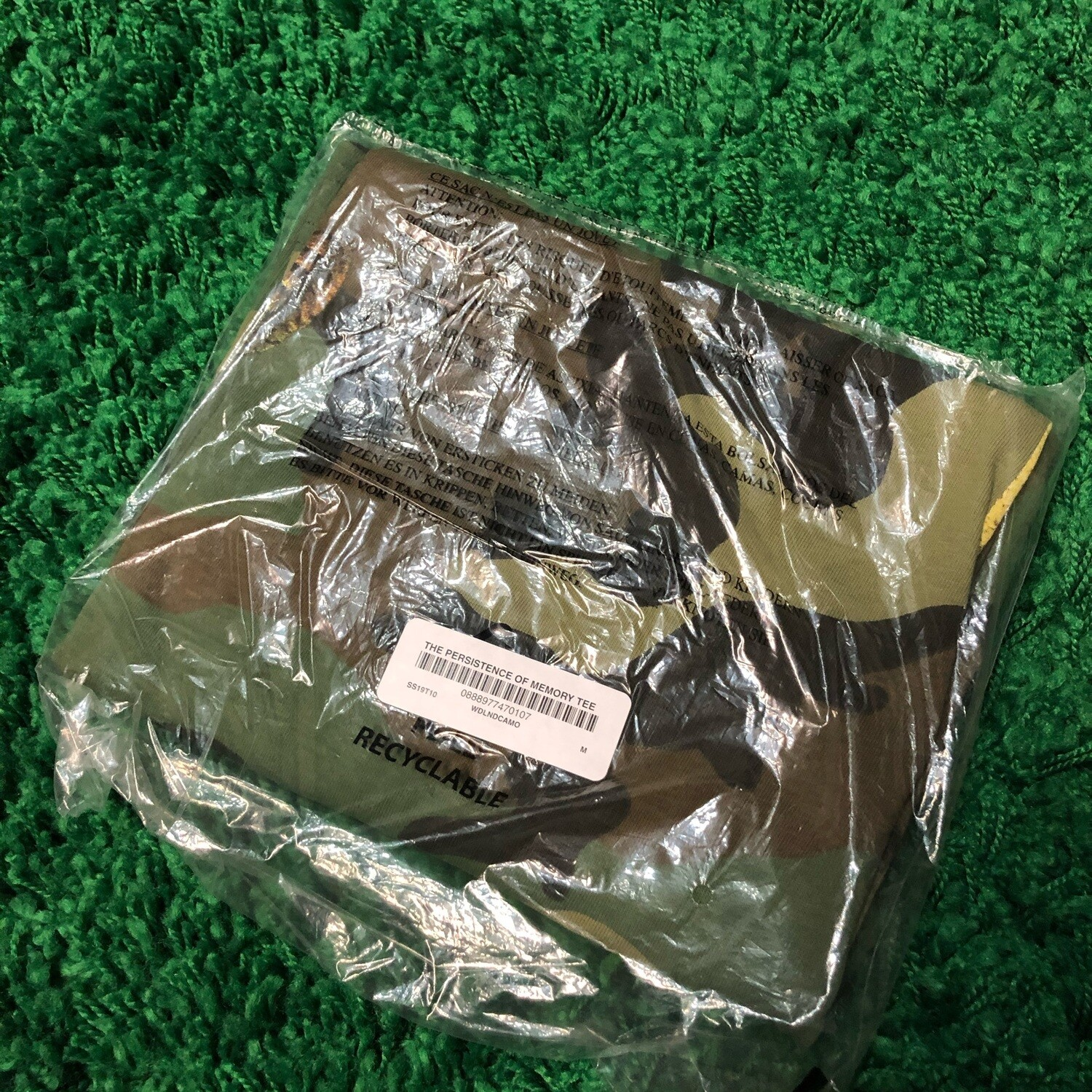 Supreme The Persistence Of Memory Tee Camo Size Medium