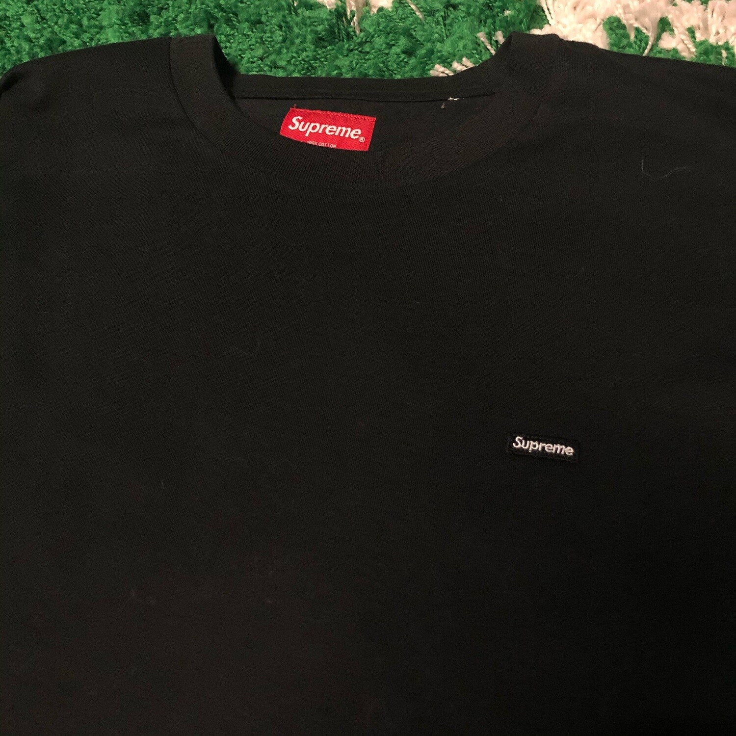 Supreme Small Box Logo Tee Black Size XL