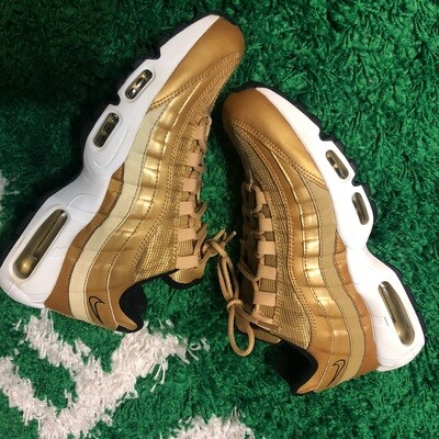 Nike Air Max 95 Metallic Gold Size 8