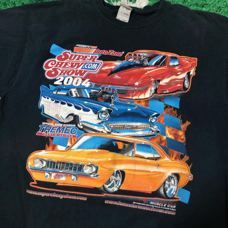 Auto Zone Super Chevy Show 2004 Size XL