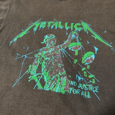 Metallica and Justice for All Size Medium