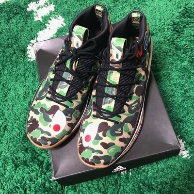 Adidas Dame 4 Bape Camo Size 12
