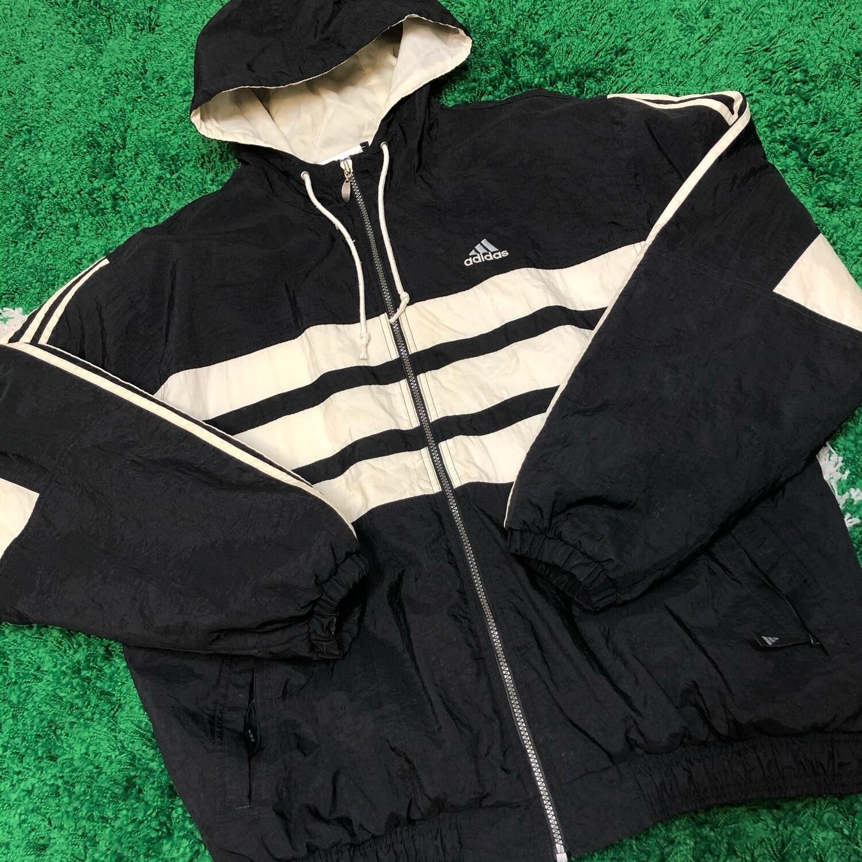 Adidas Heavy Jacket Black Size Large