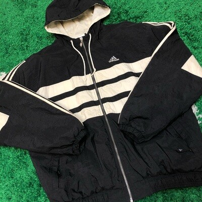 Adidas Heavy Jacket Black Size Large