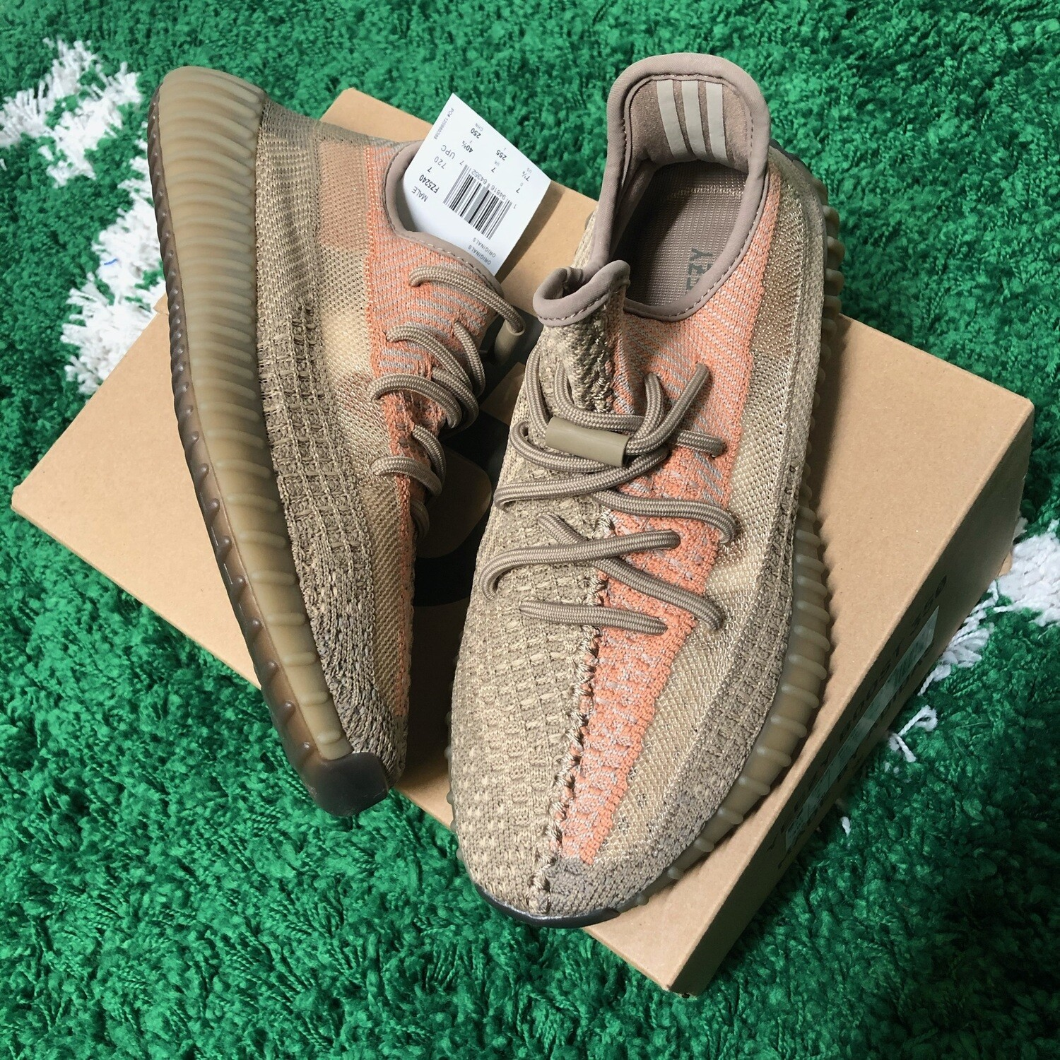 """Adidas Yeezy Boost 350 V2 """"Sand Taupe"""" Size 7.5"""