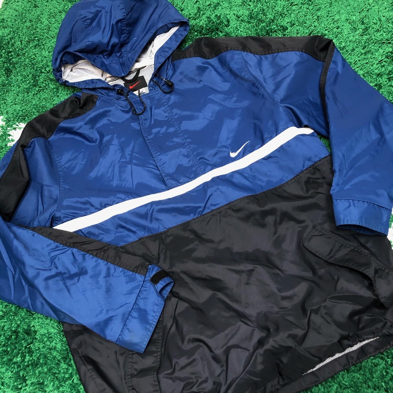 Nike Jacket Blue/Black Size Medium