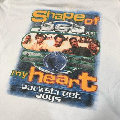 Backstreet Boys Shape of my Heart Long Sleeve Size XL