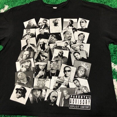 Parental Advisory Rap Tee Size 3XL